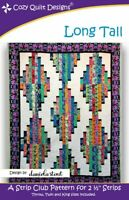 Long Tall Quilt Pattern by Cozy Quilt Designs
