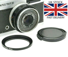 Olympus Trip 35 Step Up 43.5mm to 49mm Filter Ring & Lens Cap NEW