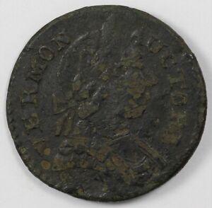 1787 Vermont Bust Right Britannia Colonial Copper Coin RR-13