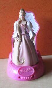 """Pink Barbie Burger King Toy 2002 Mattel 4 1/2"""""""