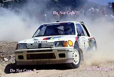 Ari Vatanen Peugeot 205 Turbo 16 Acropolis Rally 1984 Photograph