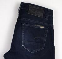 G-Star Brut Hommes 3301 Slim Jean Taille W32 L34 ALZ142