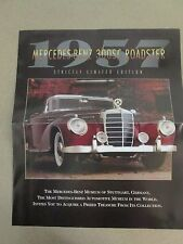 Franklin Mint Brochure 1957 Mercedes Benz 300SC Roadster LE