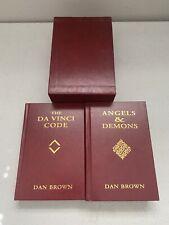 Dan BrownThe Da Vinci Code Angels & Demons Faux Leather Set Hardcover
