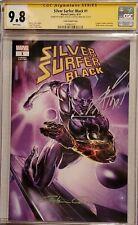 Silver Surfer Black #1 Clayton Crain Variant CGC SS 9.8 x2 Clayton Crain & Cates