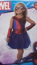 Nwt Girls Size Medium (8-10) * Marvel Spider-Girl * Halloween Costume Dress