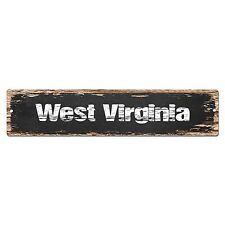 Virginia is My Home Vintage Chic Wall Decor Metal Sign 106180025045