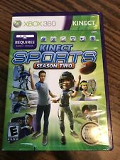 XBOX 360 - Kinect Sports Season 2 - with sensor card