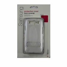 OEM Body Glove Protective Cover For Samsung Galaxy S3 Case Stand White T-Mobile