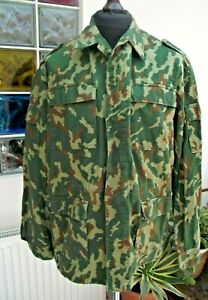 """Genuine Russian Army Camouflage lightweight jacket Shirt 46-48"""" Chest"""