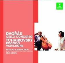 Mstislav Rostropovitch And Sei - Dvorák : Cello Concerto / Tchaikovski: (NEW CD)