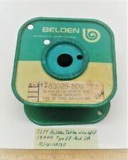 72 Ft Teflon Wire 18 Awg Belden 83029 Silver Plate Mil W 16878d Lot 15 Usa
