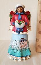 Jim Shore Winter Wonderland Angel Figurine Angelic Blessings 4041081