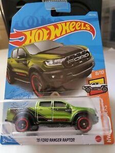 Hot Wheels 2021 '19 Ford Ranger Raptor *236/250 HW Hot Trucks *8/10 GRY96
