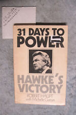 31 Days To Power : Hawke's Victory - Robert Haupt OzSellerFasterPost!