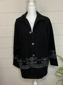 private edition by  Chino's Wool Blend jacket Small Southwestern USA MADE