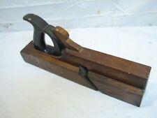 Antique Sandusky Nosing Plane Woodworking Wood Tool Moulding Round Molding