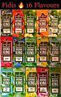 Aroma King Aromakarten 10, 25 o. 50 Set viele Flavours Karte NEU wie Hipzz Rizla