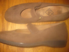 THERESIA LADIES BROWN SUEDE LEATHER SHOES MADE IN GERMANY SZ 9M GREAT CONDITION