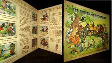 FABLES de LA FONTAINE Album vignette image dessin Enfantina CHOCOLAT MENIER 1950