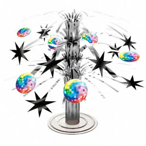 Disco Ball Cascade Mini Table Centrepiece 70s 80s Party Table Decorations