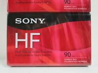 Lot of 2 Sony Hf 90 Cassette Tapes New Free Shipping