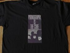 """T-Shirt du groupe THE CURE """"Pornography is the Cure"""" (neuf)"""