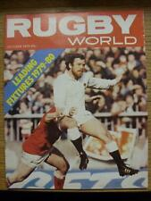 01/10/1979 Rugby World Magazine: October Edition - Complete Issue of the monthly