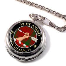 Mcculloch Scottish Clan Pocket Watch