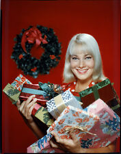 MAY BRITT STUDIO PORTRAIT PHOTO SHOOT CHRISTMAS PRESENTS 8X10 TRANSPARENCY SLIDE
