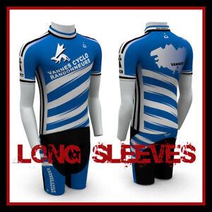 TeamEight CYCLING JERSEY LONG SLEEVES + SHORTS KNICKS