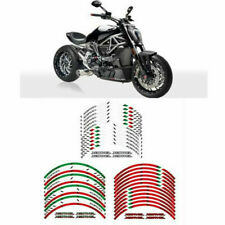 Motorcycle Rim Stripes Wheel Decals Tape Stickers For DUCATI XDIAVEL