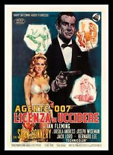 DR. NO ✯ CineMasterpieces JAMES BOND 007 ITALIAN 4SH MOVIE POSTER DOCTOR DR 1962