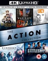 The Action Collection(5 Film) 4K Ultra HD Nuovo 4K UHD (8312677)