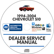 Chevrolet S-10 S10 1994-2004 Factory Service Repair Manual chevy