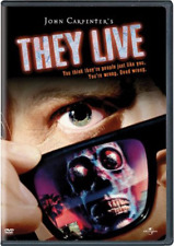 They Live [DVD, NEW] FREE SHIPPING