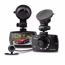 G30 Car Dvr Dual Lens Camera 2.7'' Hd Lcd G-sensor Car Recorder Ir Night Vision