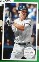 2020 Topps Archives AARON JUDGE 1964 Giant Card Special Insert New York Yankees