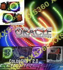 ORACLE Hummer H1 92-06 WATERPROOF LED Headlight Halos COLORSHIFT 2.0 W/ REMOTE