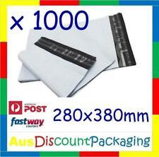 (1000x Piece) 280 x 380mm Premium Poly Mailer Courier Satchel Shipping Bag