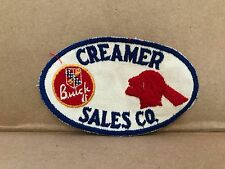 """VINTAGE 1950/60'S EMBROIDERED BUICK & PONTIAC JACKET PATCH  4.5"""" X 3"""""""