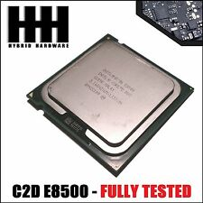 Intel Core 2 Duo E8500 CPU 3.1 GHz /6M/1333 Mhz Processor LGA 775 - FULLY TESTED