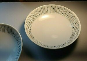 "Carefree By Syracuse Jackstraws Soup Cereal Bowl  6 3/4"" Mid Century Modern ONE"