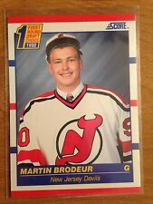1990/1 Score Martin Brodeur RC New Jersey Devils