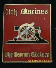 11TH MARINES US MARINE ARTILLERY REGIMENT USMC HAT PIN MCB CAMP PENDLETON WOW
