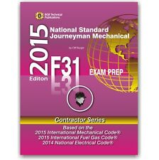 F31 National Standard Journeyman Mechanical Study Questions Workbook ICC Exam