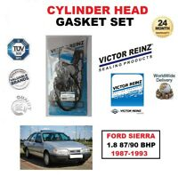 Victor Reinz Jeu de Joints Culasse pour Ford Sierra 1.8 87/90 Bhp 1987-1993