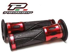 Progrip Poignées de Guidon Rouge / Aluminium Honda CBR 1000 RR Fireblade