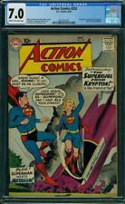 Action Comics #252 CGC 7.0 DC 1959 1st Supergirl! Superman! Key! L2 2061 cm Sale