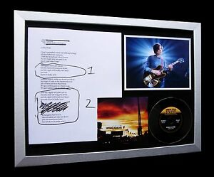 RYAN ADAMS Lucky Now GALLERY QUALITY FRAMED+CD+EXPRESS GLOBAL SHIP+NOT SIGNED